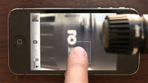 exposureauto focus lock iphone zap tutorial youtube