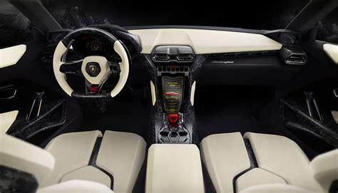 Urus Lamborghini Interior 2012 Lamborghini Urus концепты