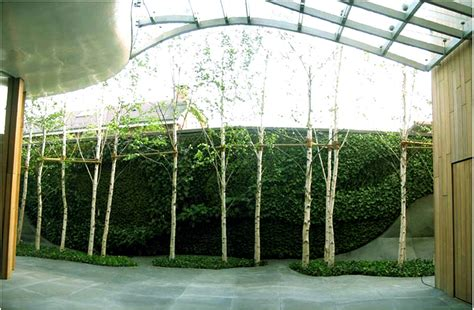 Vertical Garden House House Seoul Vertical Garden Blanc
