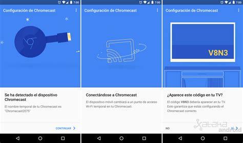 imagenes google chromecast c 243 mo configurar un nuevo chromecast desde tu m 243 vil android