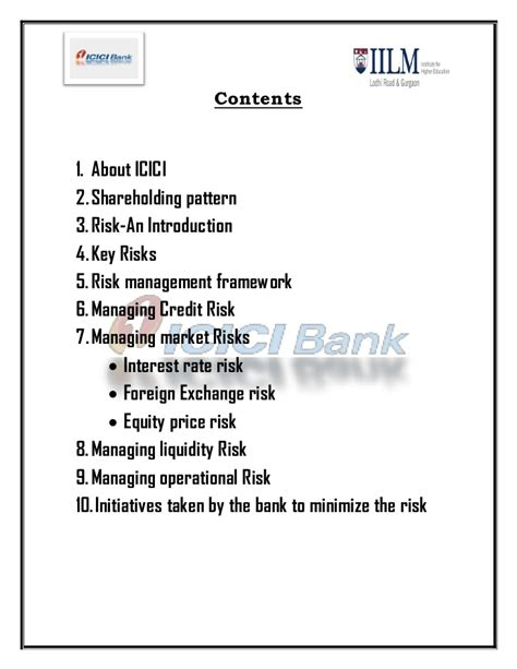 Mba Marketing Project On Icici Bank by Icici Bank Rm Project