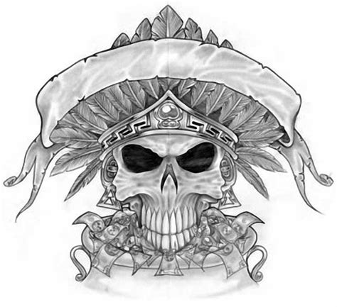 mexican skull tattoo designs inspiration on pirate ship drawing