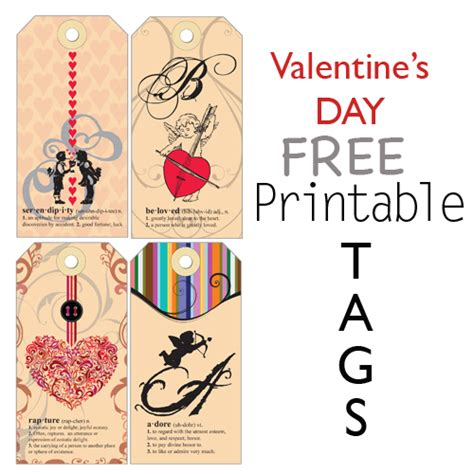printable love gift tags delores s blog valentine 39s day printable gift tags