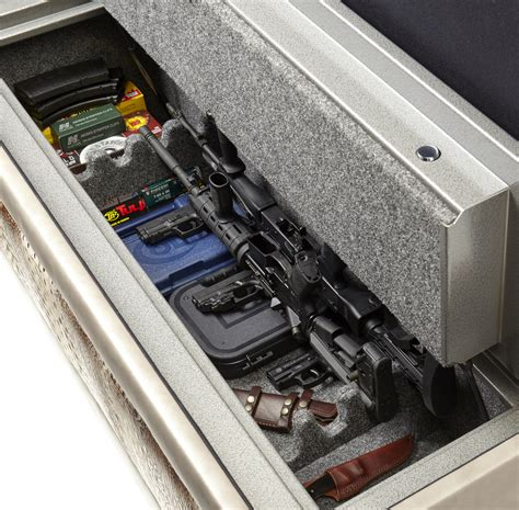 gun safe bench bernadette livingston