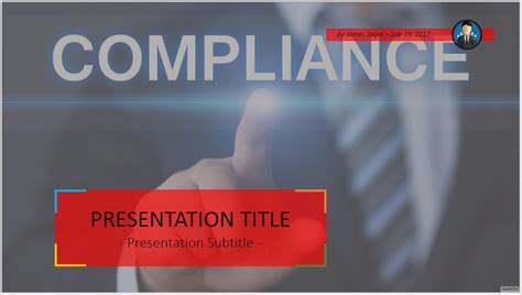 Compliance Ppt Template Free Compliance Powerpoint 53440 Sagefox Powerpoint Templates