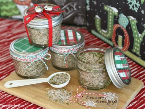household gifts season s greetings mason jar gift all purpose seasoning mix