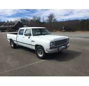 Dodge Crew Cab 4 Door 1st Gen Generation King Southern Truck Salt
