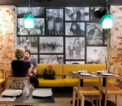 cafe interior design perth pizzeria in perth inspired by 70 s style interior design