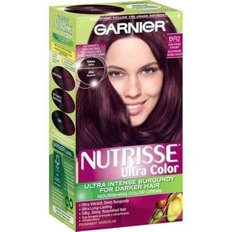 garnier nutrisse hair color garnier garnier nutrisse nourishing color foam permanent