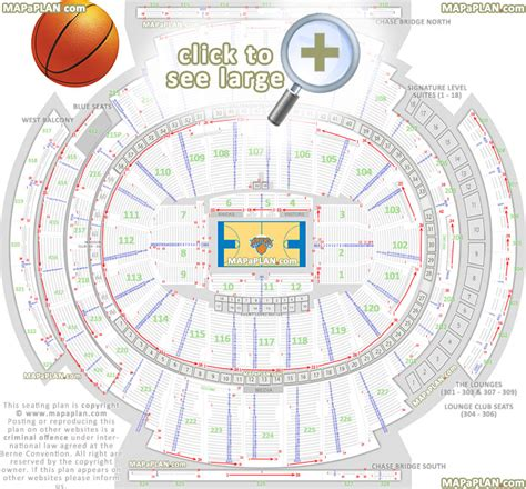 msg floor plan madison square garden seating chart detailed seat