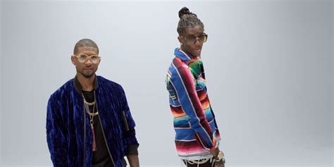 young thug pitchfork usher and young thug share new video for no limit watch