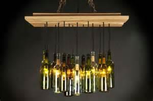Wine Bottle Light Fixtures Wine Bottle Light Fixture Innovative Use Of These Bottles Light Decorating Ideas