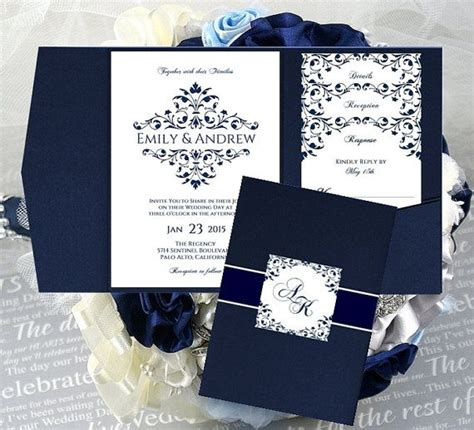 29 Images Of Royal Wedding Invitation Border Template Tonibest Com Navy Blue Wedding Invitation Templates