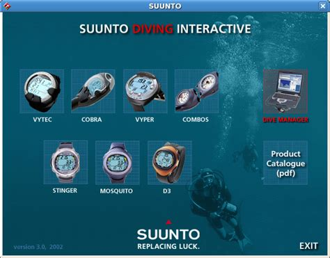 suunto dive manager suunto dive manager on linux