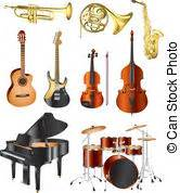 what instruments can be found in the jazz rhythm section marching band vector clipart eps images 506 marching band