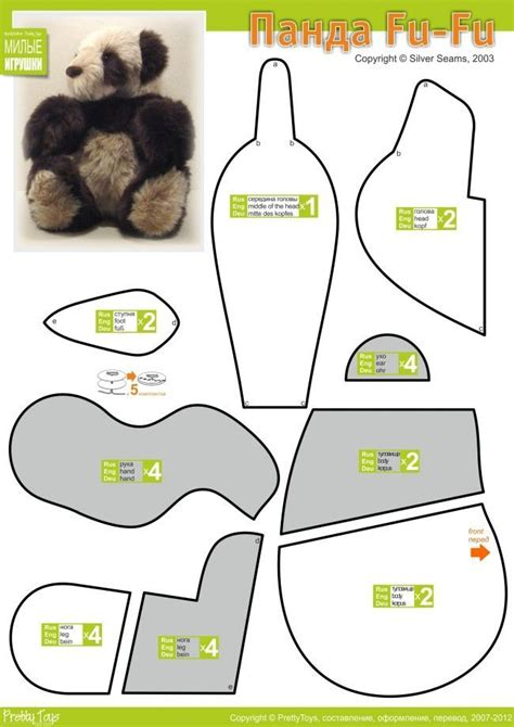 teddy sewing template 258 best images about strihy on free pattern