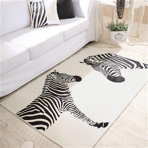zebra teppiche kaufen gro 223 handel zebra teppich aus china zebra