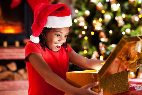 Royalty Free Black People Christmas Pictures, Images and ... Happy Kids Opening Christmas Presents