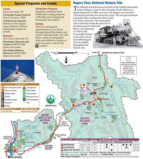map of glacier national park canada 17 best images about national parks on canada