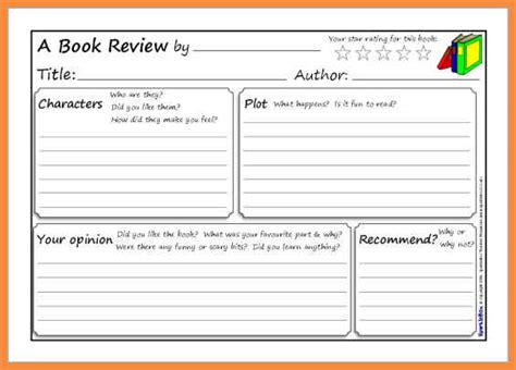 book template ks1 book review template pp77b636c5 02 jpg sle bio letter