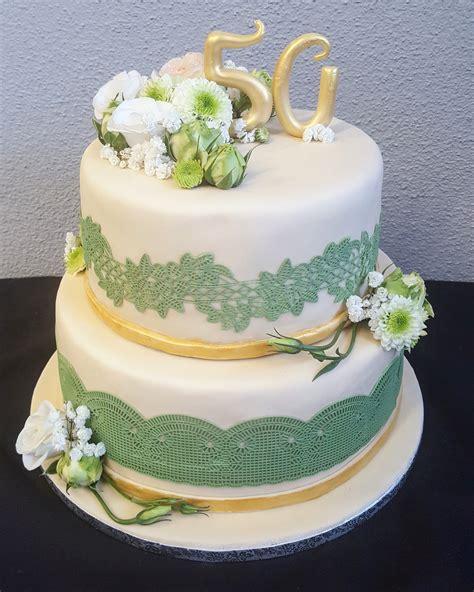 Torten Zur Hochzeit by Genial Fondant Torte Goldene Hochzeit Website