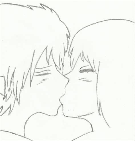 anime couples kissing sketches older anime couple kissing by akatsakuforever15 on deviantart