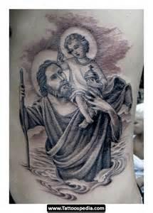st christopher tattoo tattoospedia