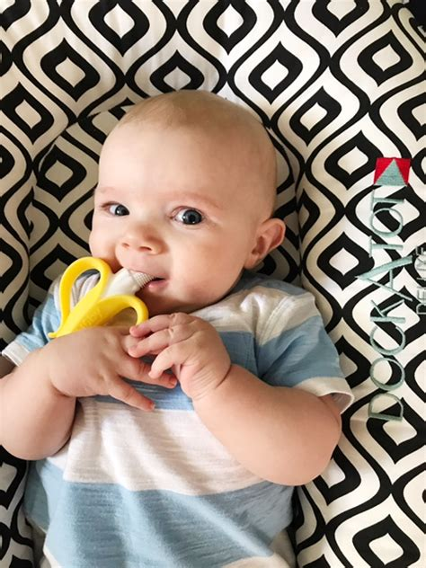Nuby Banana Toothbrush Teether Nananubs Massager Best Product the best teethers for baby blissfully