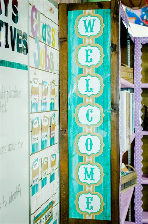 32 best images about shabby chic classroom on pinterest