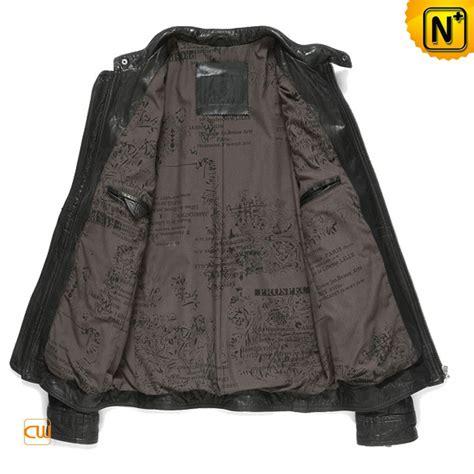 rugged mens jacket mens rugged black lambskin leather jacket cw850128