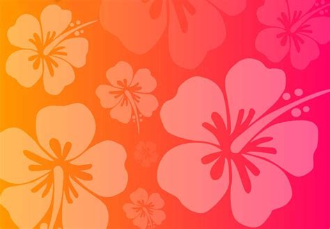 hawaiian flowers free ppt backgrounds for your powerpoint