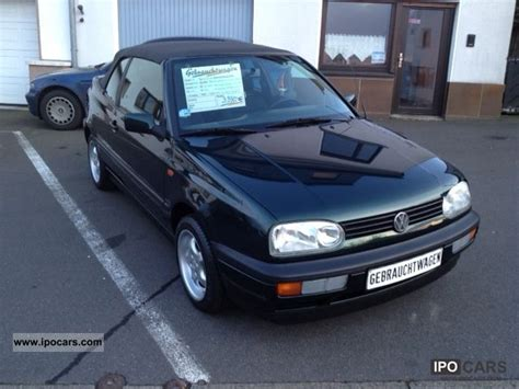 1997 volkswagen golf cabriolet 1 8 sport edition with air car photo and specs