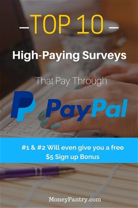 Online Surveys That Pay You - 10 high paying surveys that pay through paypal join now get 5 sign up bonus
