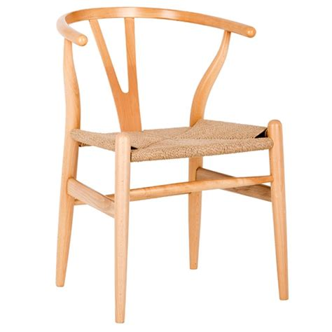 Hans Wegner Replica Chair by New Hans Wegner Replica Wishbone Chair Padded Seat Ebay