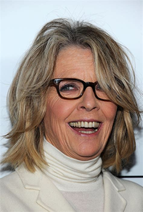 diane keatons layer cut diane keaton hairstyles for women over 50 via short