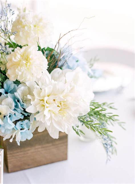 light blue flower arrangements 17 best ideas about blue flower centerpieces on