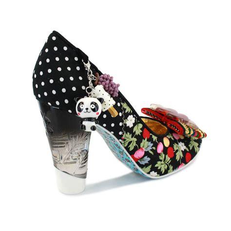 Cost Of Bow Window irregular choice stick of rock womens slip on fabric heels
