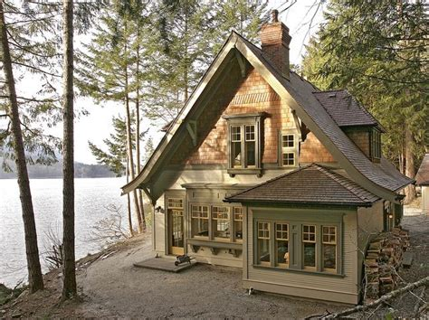Lake House Cottages Fulford Harbour Cottage By King Edward Bay Elevation