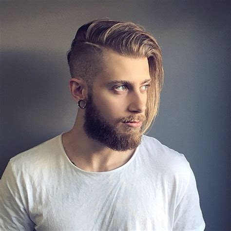 mens undercut side part 50 stately long hairstyles for men