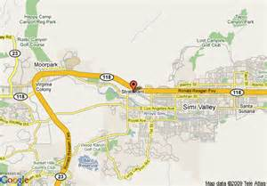 map of simi valley california map of courtyard by marriott ventura simi valley simi valley