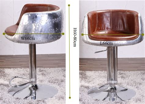 Real Leather Bar Stool Vintage Aviation Genuine Leather Bar Stool Buy Genuine Leather Bar Stool Aviation Bar Stool