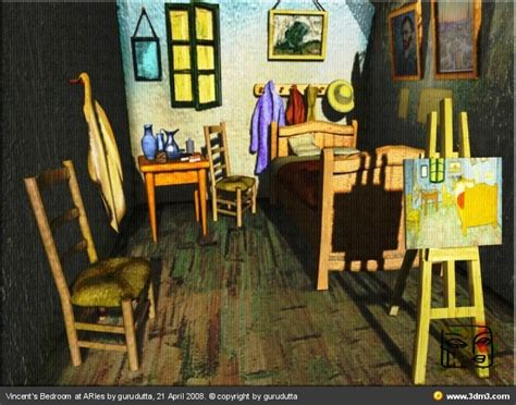 van gogh bedroom in arles quot bedroom in arles quot vincent van gogh new version by