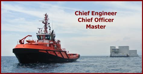 tugboat engineer salary master chief officer chief engineer for vsp tug
