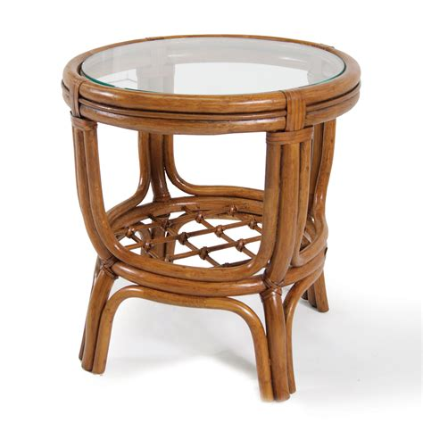 Wicker Side Table Boca Rattan 3002 Delta Side Table Atg Stores