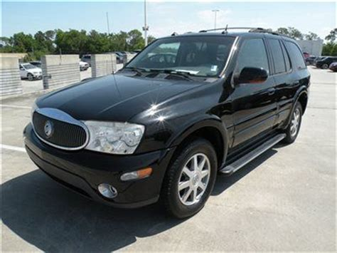 security system 2004 buick rainier transmission control find used 2004 buick rainier cxl black beige navigation sunroof running boards low fl in