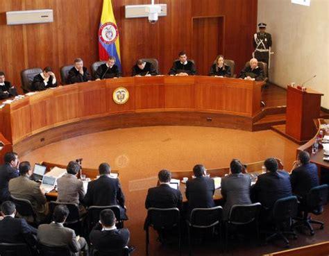imagenes de justicia en colombia denuncian a tres expresidentes de la corte suprema de
