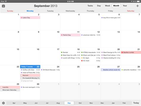 Calendar 5 Review Calendars 5 For Ios Review Better Than Calendar On All