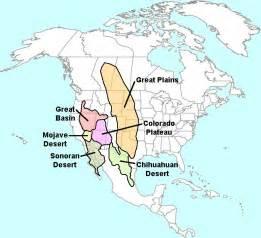 united states map showing deserts american drylands abundant desert