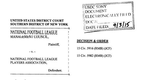 section 301 labor management relations act judge overturns tom brady s four game suspension complete