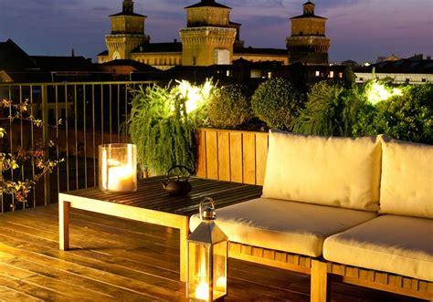 terrazze design illuminare la terrazza con la luce giusta e lade design